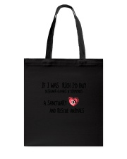And Rescue Animals Tote Bag thumbnail
