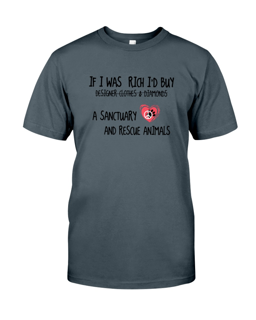 And Rescue Animals Classic T-Shirt