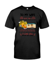 Camping To My Wife Classic T-Shirt thumbnail