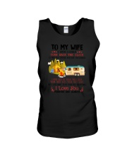 Camping To My Wife Unisex Tank thumbnail