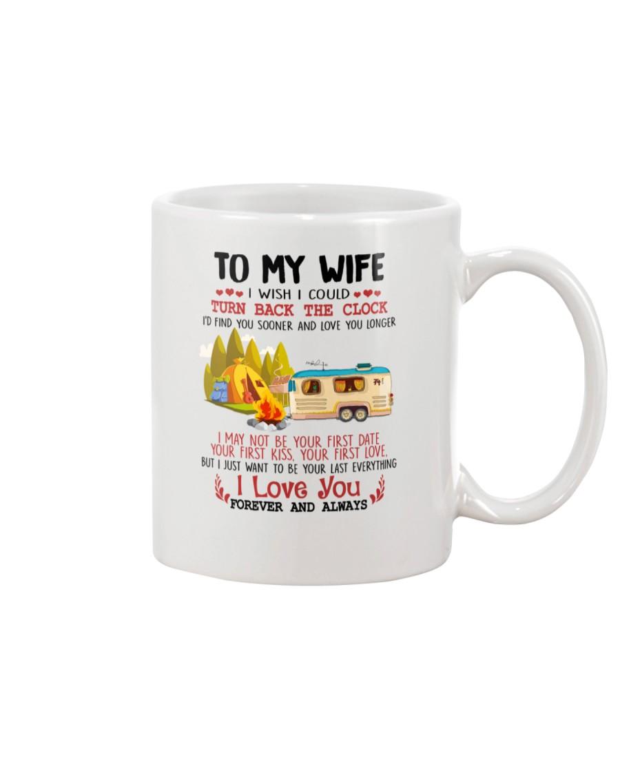Camping To My Wife Mug
