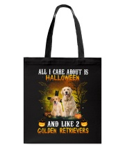 All I Need Is Golden Retriever Tote Bag thumbnail