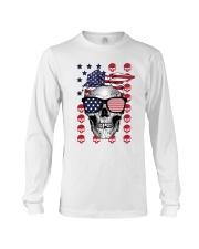 Skull USA Flag T5TO Long Sleeve Tee thumbnail