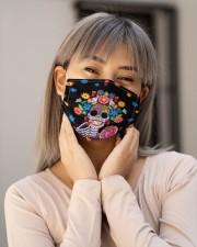 Sugar Skull H27831 Cloth face mask aos-face-mask-lifestyle-17