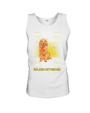 DOGS - GOLDEN RETRIEVER - DRUGS Unisex Tank thumbnail