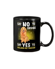DOGS - GOLDEN RETRIEVER - DRUGS Mug thumbnail