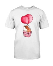 Guinea Pig Balloon Classic T-Shirt front