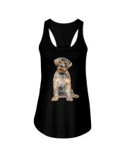 NYX - Rottweiler Bling - 0703 Ladies Flowy Tank thumbnail