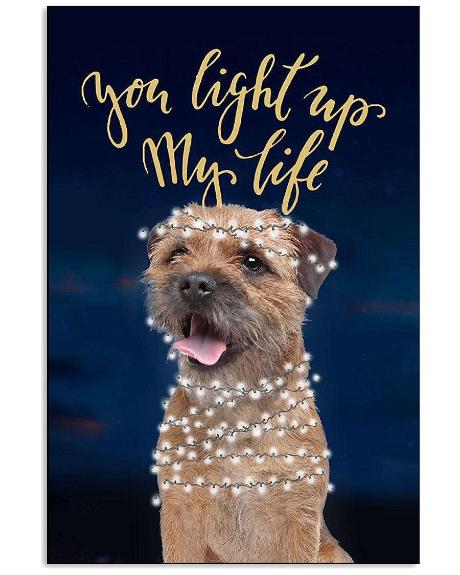 Border Terrier Light Up 11x17 Poster