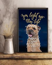 Border Terrier Light Up 11x17 Poster lifestyle-poster-3