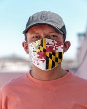 Maryland Flag T828 Cloth face mask aos-face-mask-lifestyle-06