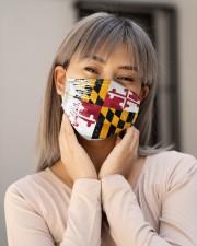 Maryland Flag T828 Cloth face mask aos-face-mask-lifestyle-17