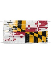 Maryland Flag T828 Cloth face mask front