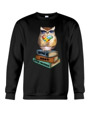 Owl and Autism Crewneck Sweatshirt thumbnail