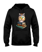 Owl and Autism Hooded Sweatshirt thumbnail