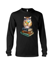 Owl and Autism Long Sleeve Tee tile