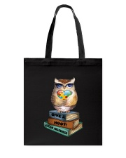 Owl and Autism Tote Bag tile