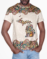 Michigan Mandala Pattern T5TO All-over T-Shirt aos-all-over-T-shirt-lifestyle-front-03