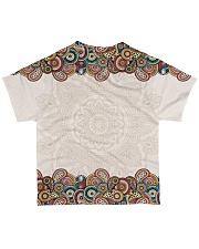 Michigan Mandala Pattern T5TO All-over T-Shirt back