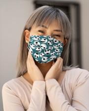 Jack Skellington Blue Pattern G82785 Cloth Face Mask - 3 Pack aos-face-mask-lifestyle-17