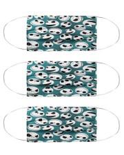 Jack Skellington Blue Pattern G82785 Cloth Face Mask - 3 Pack front