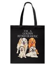 GOLDEN RETRIEVERAHOLIC Tote Bag thumbnail