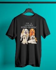 GOLDEN RETRIEVERAHOLIC Classic T-Shirt lifestyle-mens-crewneck-front-3
