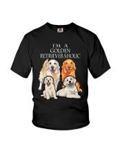 GOLDEN RETRIEVERAHOLIC Youth T-Shirt thumbnail