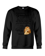 Family To My Grandson I want to tell you  Crewneck Sweatshirt thumbnail