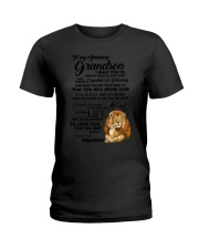 Family To My Grandson I want to tell you  Ladies T-Shirt thumbnail