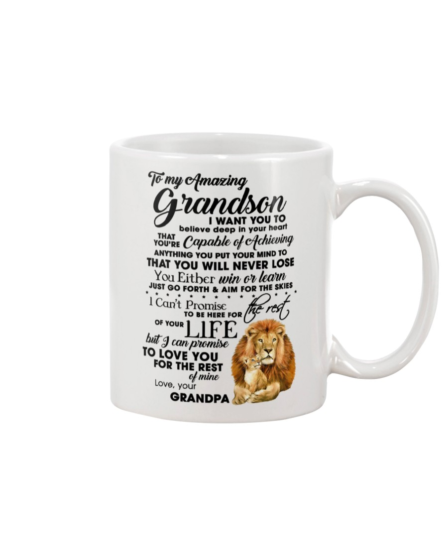 Family To My Grandson I want to tell you  Mug