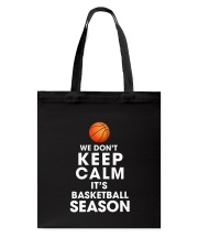 Basketball Season Tote Bag thumbnail