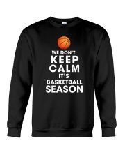 Basketball Season Crewneck Sweatshirt thumbnail