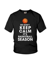 Basketball Season Youth T-Shirt thumbnail