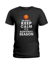 Basketball Season Ladies T-Shirt thumbnail