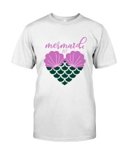 Mermaid At Heart Classic T-Shirt front