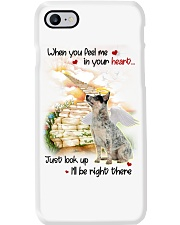 Australian Cattle Dog Look Up Phone Case thumbnail