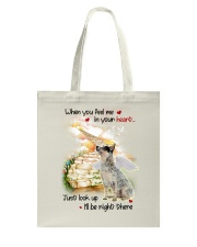 Australian Cattle Dog Look Up Tote Bag thumbnail