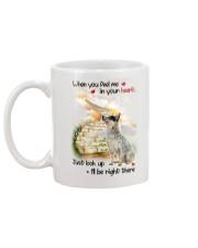 Australian Cattle Dog Look Up Mug back