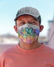 Mermaid Peace Love T827 Cloth face mask aos-face-mask-lifestyle-06