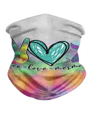 Mermaid Peace Love T827 Neck Gaiter thumbnail