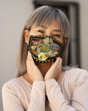 Bee Flower H28855 Cloth face mask aos-face-mask-lifestyle-17