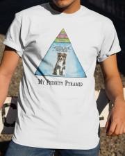 Australian Shepherd Priority Pyramid Classic T-Shirt apparel-classic-tshirt-lifestyle-28