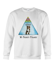 Australian Shepherd Priority Pyramid Crewneck Sweatshirt thumbnail