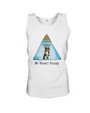 Australian Shepherd Priority Pyramid Unisex Tank thumbnail