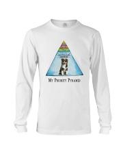 Australian Shepherd Priority Pyramid Long Sleeve Tee thumbnail