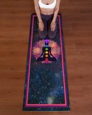 Chakras Power T5TF Yoga Mat 24x70 (vertical) aos-yoga-mat-lifestyle-24