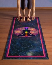Chakras Power T5TF Yoga Mat 24x70 (vertical) aos-yoga-mat-lifestyle-26