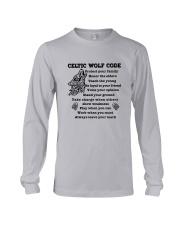 Celtic Wolf Code Long Sleeve Tee thumbnail