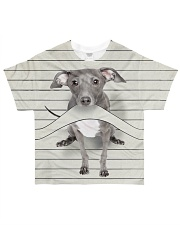 Greyhound Lines All-over T-Shirt front